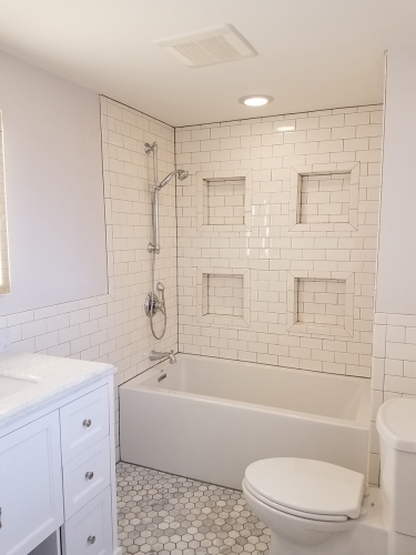Cape Cod Remodel on 2 Levels