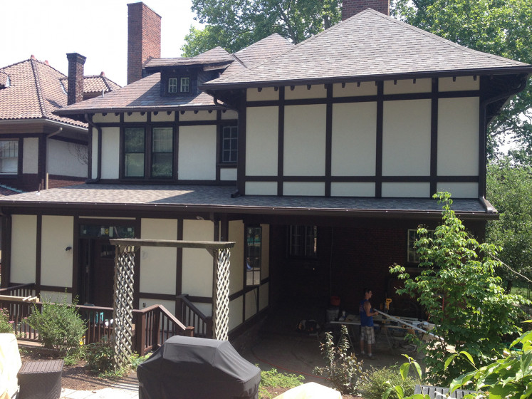 Rear Two-Story Addition