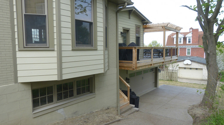 Two Story Garage & Family Room Addition