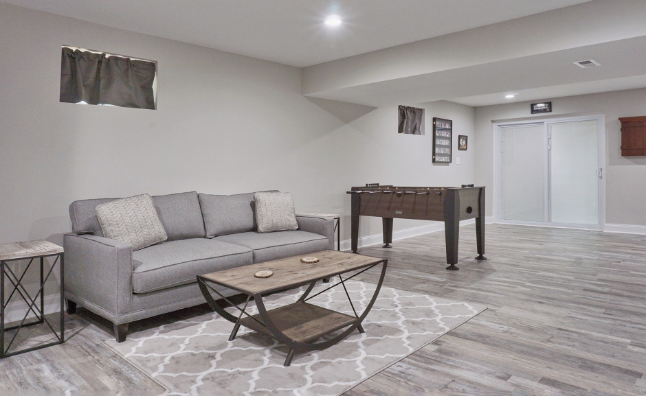 Basement Remodeling in Pittsburgh