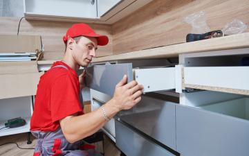Step Eight: Cabinets & Interior Trim